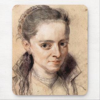 Portrait of Susanna Fourment by Paul Rubens Mousepads