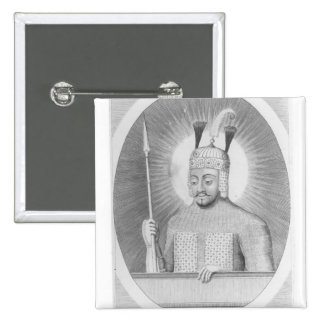Portrait of Tamerlane the Great Pin