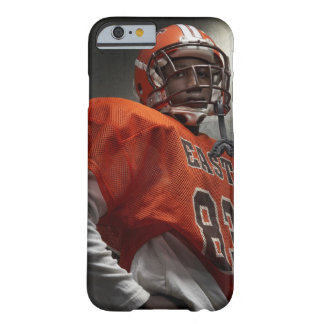 Portrait of teenage (14-15) American football Barely There iPhone 6 Case