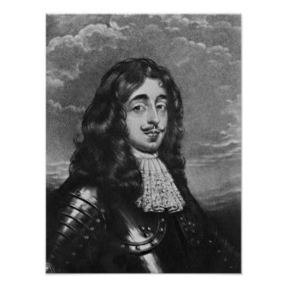Portrait of the 8th Earl of Derby Poster