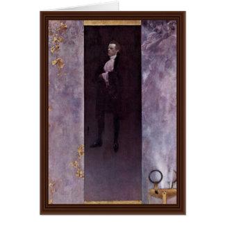 Portrait Of The Actor Josef Lewinsky As Carlos Greeting Card