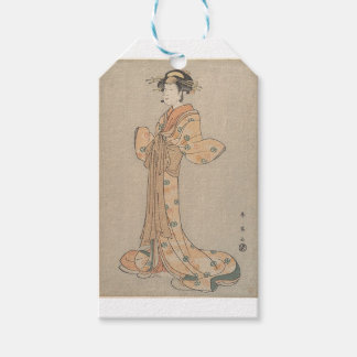 Portrait of the Actor Nakamura Yasio as an Oiran Gift Tags