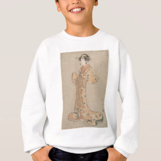Portrait of the Actor Nakamura Yasio as an Oiran Sweatshirt