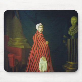 Portrait of the Actress and Praskovya Mouse Pad