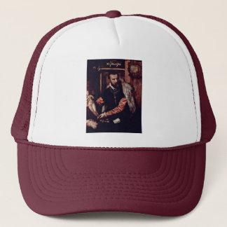 Portrait Of The Art Dealer Jacopo Strada By Tizian Trucker Hat