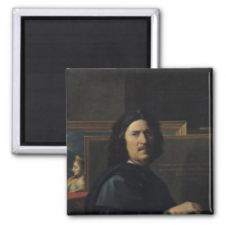 Portrait of the Artist, 1650 Square Magnet