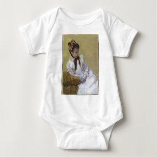 Portrait of the Artist - Mary Cassatt Baby Bodysuit