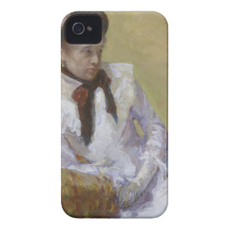 Portrait of the Artist - Mary Cassatt iPhone 4 Case