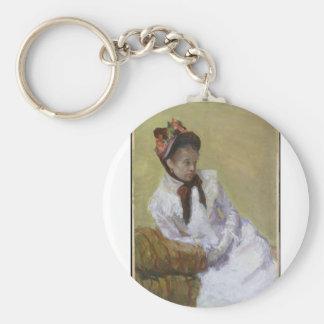 Portrait of the Artist - Mary Cassatt Key Ring