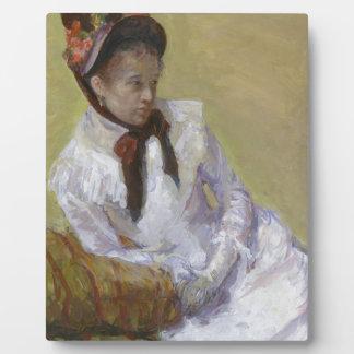 Portrait of the Artist - Mary Cassatt Plaque