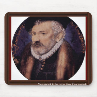 Portrait Of The Artist'S Father, Richard Hilliard Mouse Pad