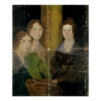 Portrait of the Bronte Sisters, c.1834 Poster