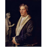 Portrait Of The Danish Sculptor Bertel Thorvaldsen Cut Outs