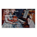 Portrait Of The Daughters Of Catulle-Mendes Business Card Templates