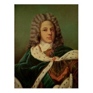 Portrait of the Duc de Saint-Simon Postcard