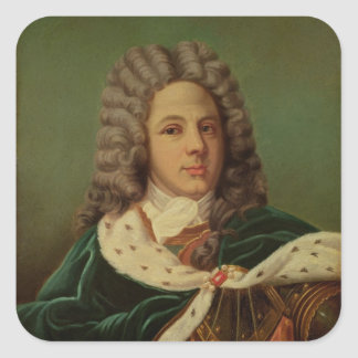 Portrait of the Duc de Saint-Simon Square Sticker