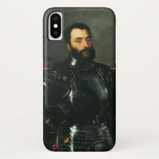 Portrait of the Duke of Urbino by Titian iPhone X Case