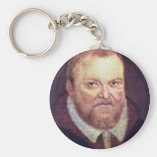 Portrait Of The Elector Augustus I Of Saxony By Cr Key Ring