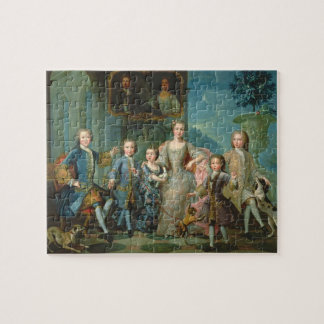 Portrait of the Family of the Duke of Valentinois Jigsaw Puzzles