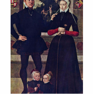 Portrait Of The Family Van Gindertaelen By Meister Cut Outs