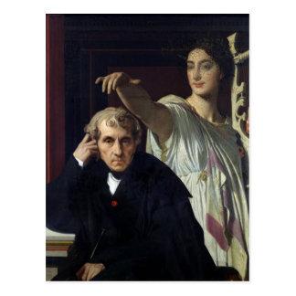 Portrait of the Italian Composer Cherubini Postcard