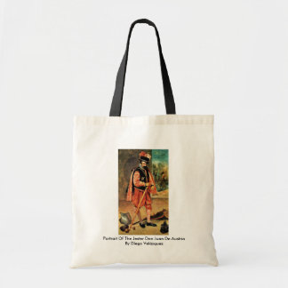 Portrait Of The Jester Don Juan De Austria Canvas Bags