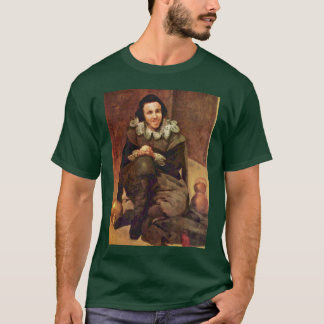 Portrait Of The Jester Juan De Calabazas T-Shirt