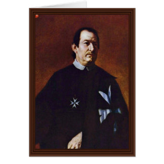 Portrait Of The Knights Prior Bernard De Witte, By Card