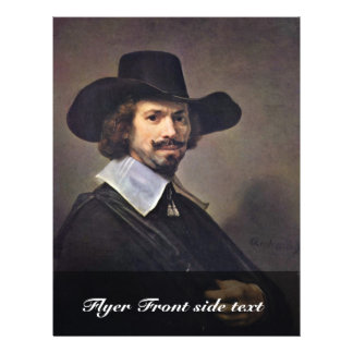 Portrait Of The Painter Hendrick Martenszoon. Flyer