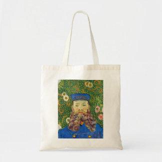 Portrait of the Postman Joseph Rouli Van gogh vinc Canvas Bag