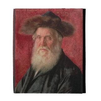 Portrait of the Rabbi of Nadvorno, c.1910 (oil on iPad Folio Cover