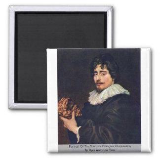 Portrait Of The Sculptor François Duquesnoy Magnet