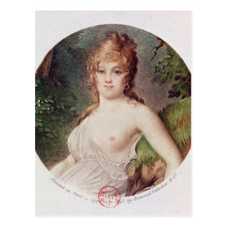 Portrait of Theresa de Cabarrus Postcard