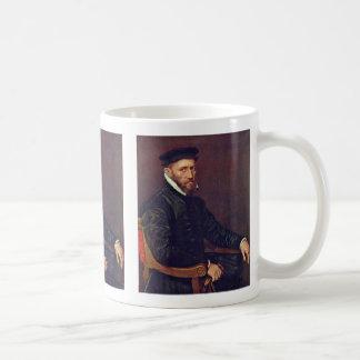 Portrait Of Thomas Gresham. By Antonio Moro Coffee Mugs