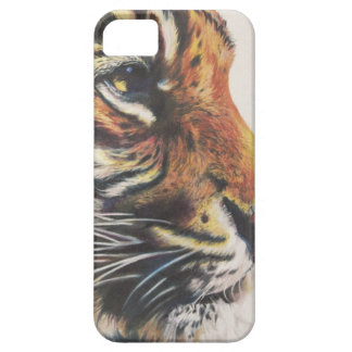 Portrait of Tiger Side View iPhone 5 Cover