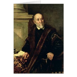 Portrait of Tommaso Giunta , 1563 Card