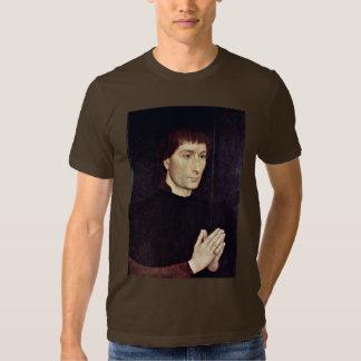 Portrait Of Tommaso Portinari By Memling Hans Shirt