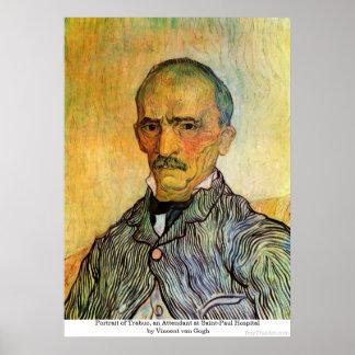Portrait of Trabuc, Attendant - Vincent van Gogh Posters