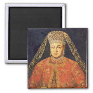 Portrait of Tsarina Marfa Matveyevna Fridge Magnet
