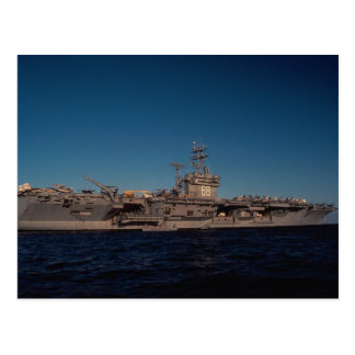 "Portrait of ""USS Nimitz"", nuclear powered carrier, Post Cards"