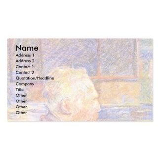 Portrait Of Vincent Van Gogh, Business Card