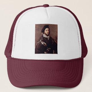 Portrait Of Vincenzo Mosti By Tizian Trucker Hat