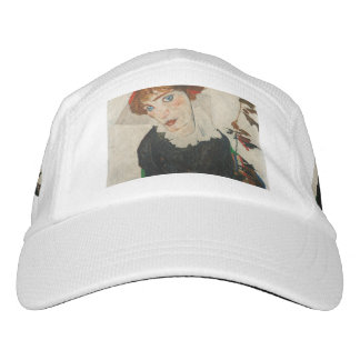 Portrait of Wally by Egon Schiele Hat