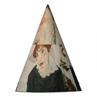 Portrait of Wally by Egon Schiele Party Hat