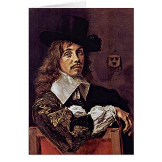 Portrait Of Willem Coymans. By Frans Hals Card
