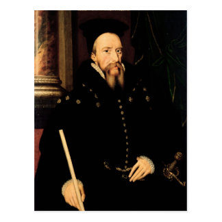 Portrait of William Cecil Postcard