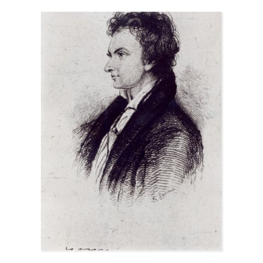 Portrait of William Hazlitt Postcard