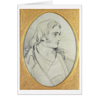 Portrait of William Lock II (1767-1847) of Norbury Card