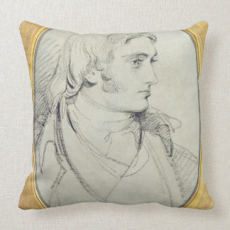 Portrait of William Lock II (1767-1847) of Norbury Throw Pillow