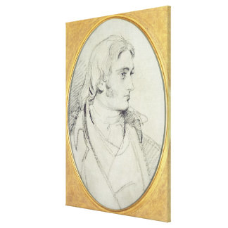 Portrait of William Lock II (1767-1847) of Norbury Stretched Canvas Prints
